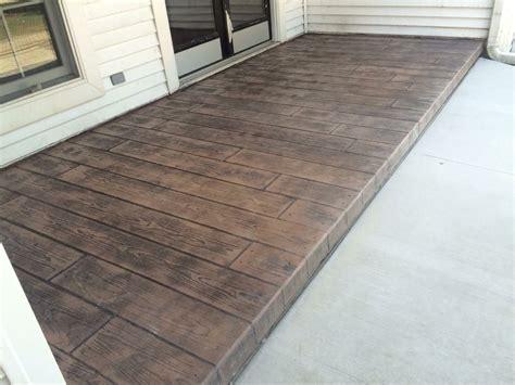 Diy-Stamped-Concrete-Wood-Look