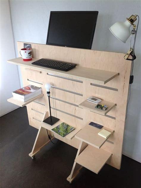 Diy-Standing-Corner-Desk
