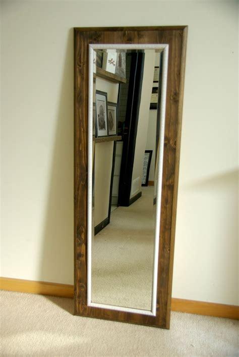 Diy-Standing-Mirror-Frame