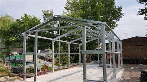 Diy-Steel-Shed-Build