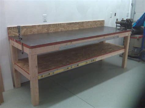 Diy-Steel-Top-Workbench