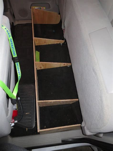 Diy-Storage-Box-For-Ford-F150-Extended-Cab