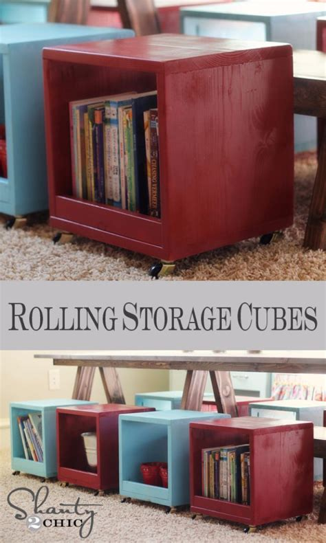 Diy-Storage-Cube-Stool-Rolling