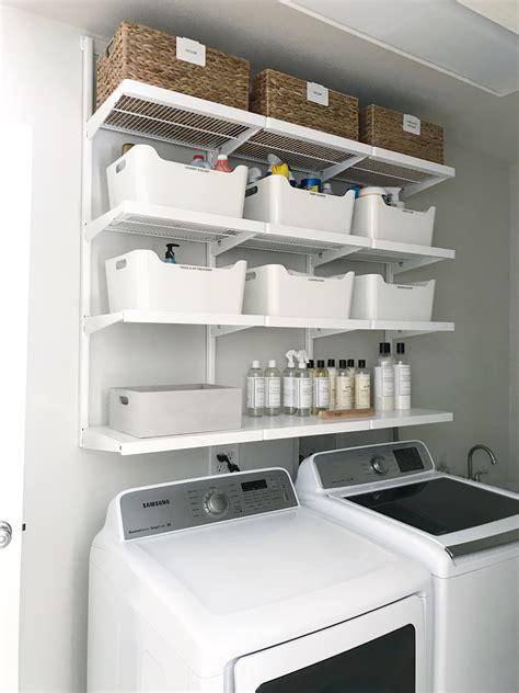 Diy-Storage-Shelf-For-Laundry-Room