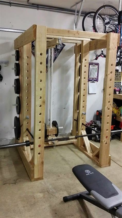 Diy-Strength-Training-Gear-Squat-Rack