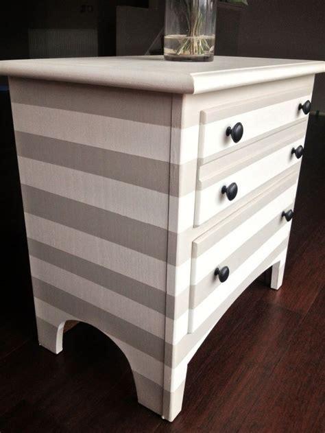 Diy-Striped-Furniture
