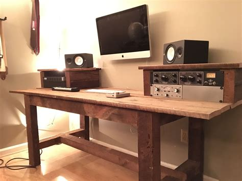 Diy-Studio-Desk-Wood