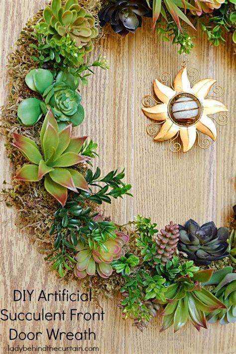 Diy-Succulent-Door-Wreath