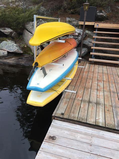 Diy-Sup-Dock-Rack