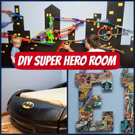 Diy-Superhero-Bedroom