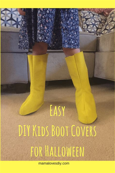 Diy-Superhero-Boot-Covers