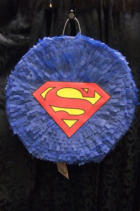 Diy-Superman-Pinata-With-Cardboard-Box