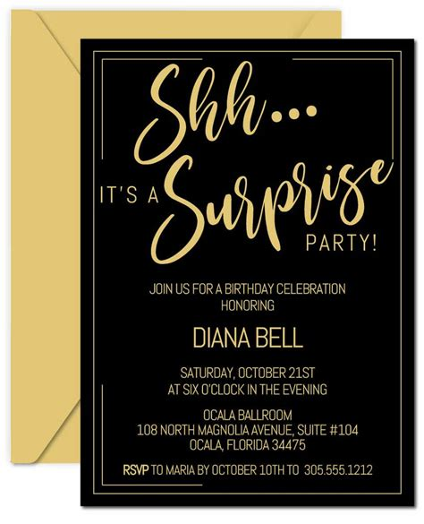 Diy-Surprise-Party-Invitations