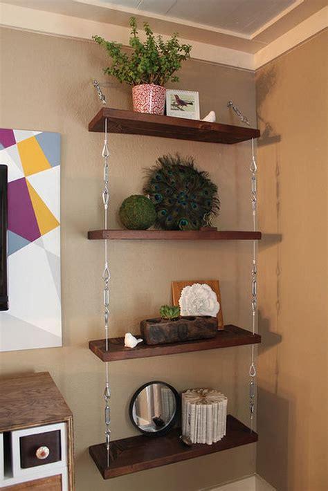 Diy-Suspension-Shelves