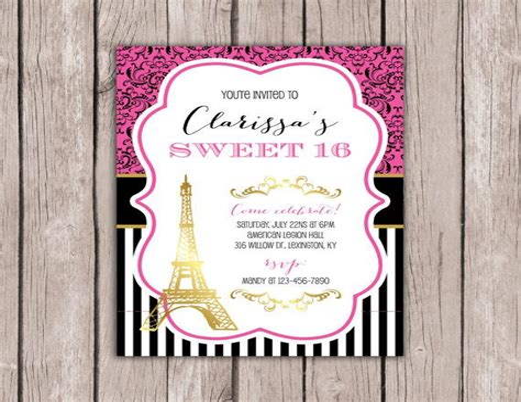 Diy-Sweet-16-Invitations