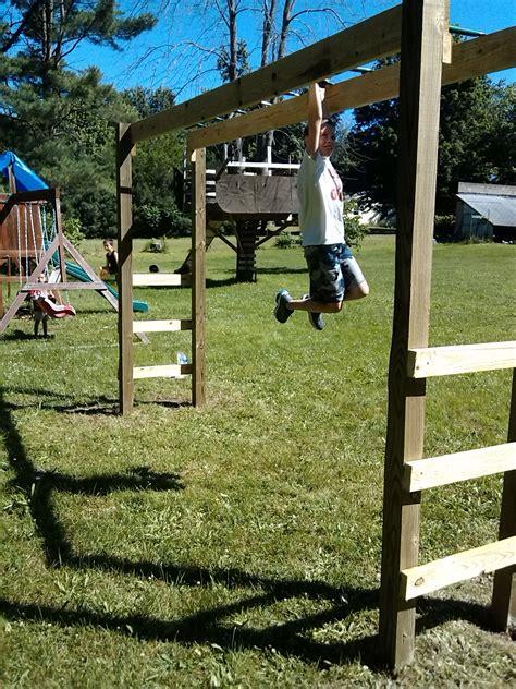 Diy-Swing-Set-Instructions-With-Monkey-Bars