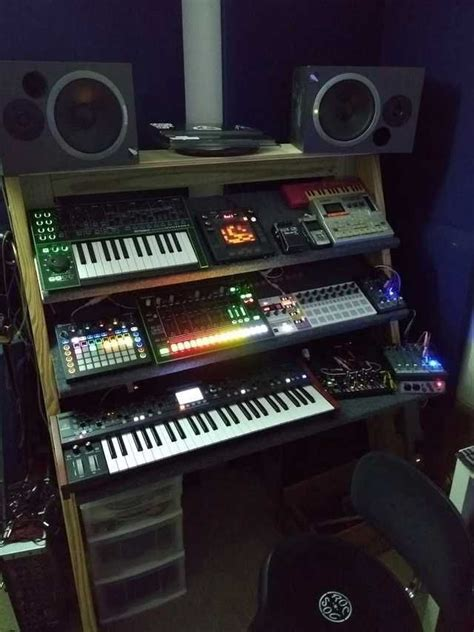 Diy-Synth-Rack