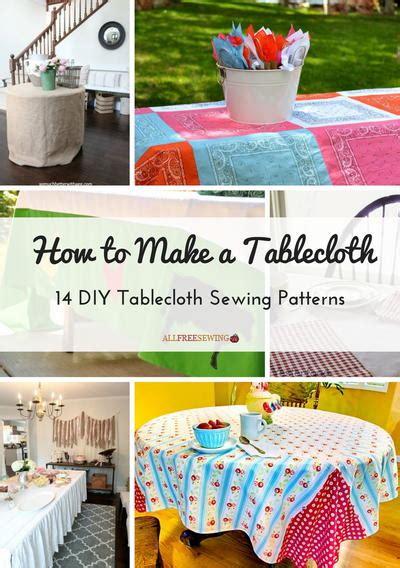 Diy-Table-Cloth-Pattern