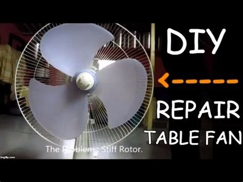Diy-Table-Fan-Repair
