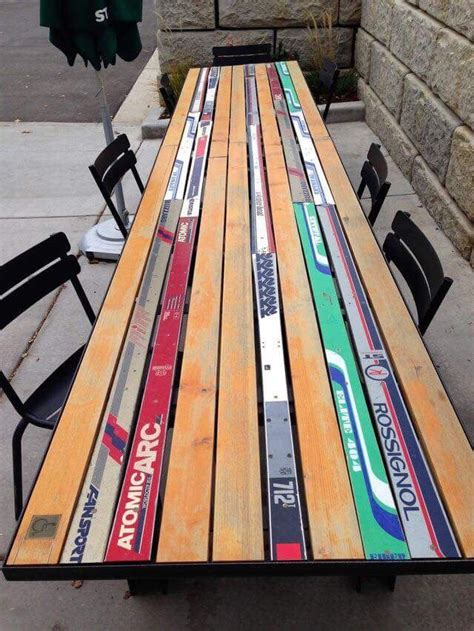 Diy-Table-Made-From-Skis