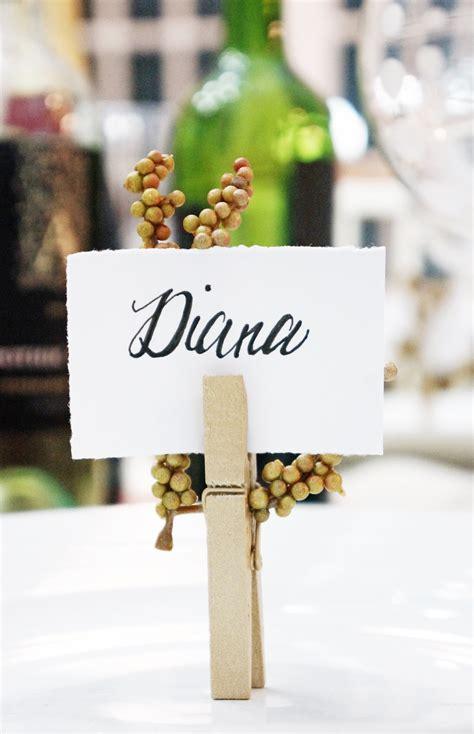 Diy-Table-Name-Holders
