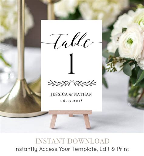 Diy-Table-Number-Cards-Template