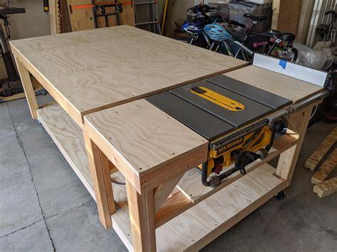 Diy-Table-Saw-Bench
