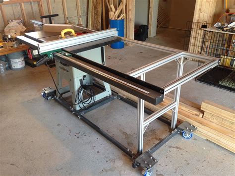 Diy-Table-Saw-Fence-And-Rails