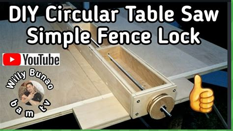 Diy-Table-Saw-Fence-Lock