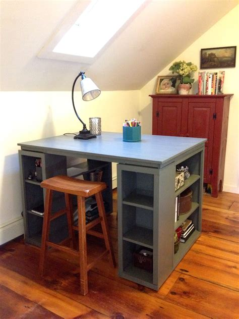 Diy-Tall-Artist-Desk