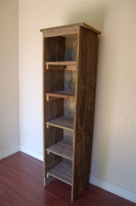 Diy-Tall-Skinny-Bookshelf