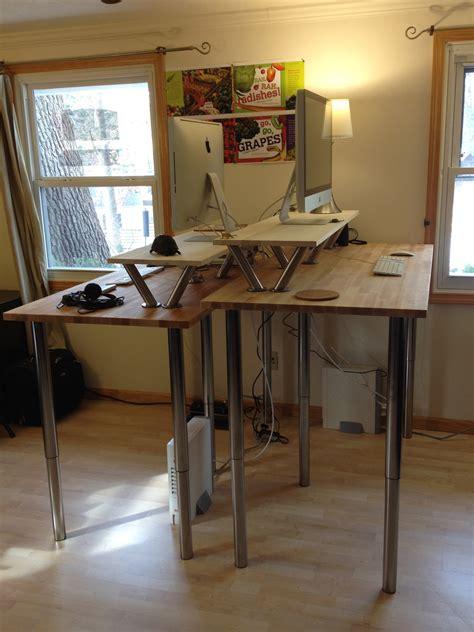 Diy-Tall-Standing-Desk