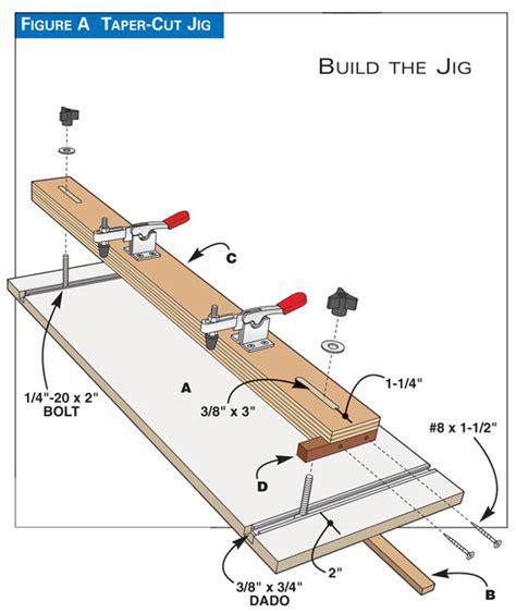 Diy-Taper-Jig-Plans