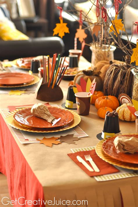 Diy-Thanksgiving-For-The-Table-For-Kids