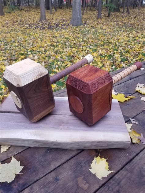 Diy-Thor-Hammer-Wood