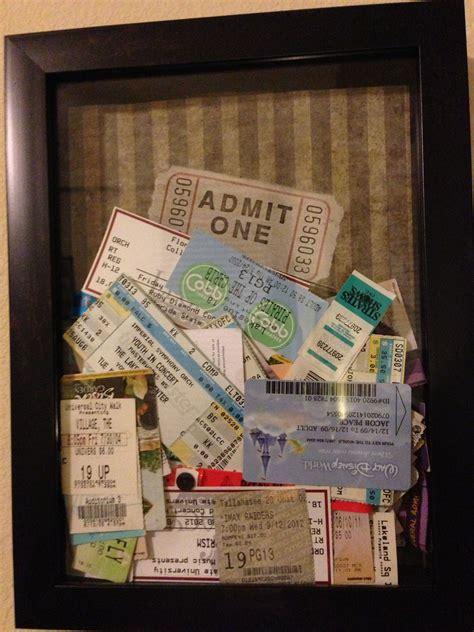 Diy-Ticket-Stub-Memory-Box