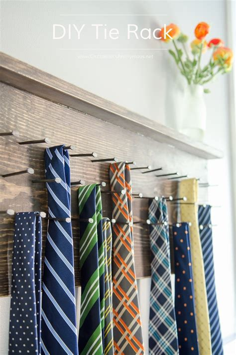 Diy-Tie-Rack-Plans