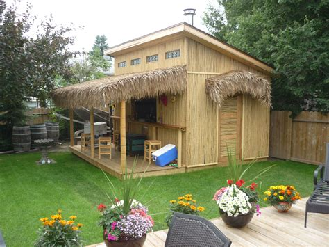 Diy-Tiki-Bar-Shed