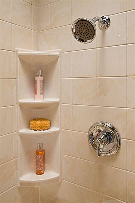 Diy-Tile-Shower-Horizontal-Corner-Shelf-Design