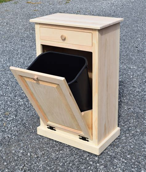 Diy-Tilt-Out-Wooden-Trash-Bin