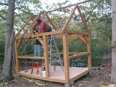 Diy-Timber-Frame-Shed