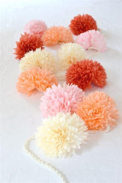 Diy-Tissue-Paper-Flower-Garland
