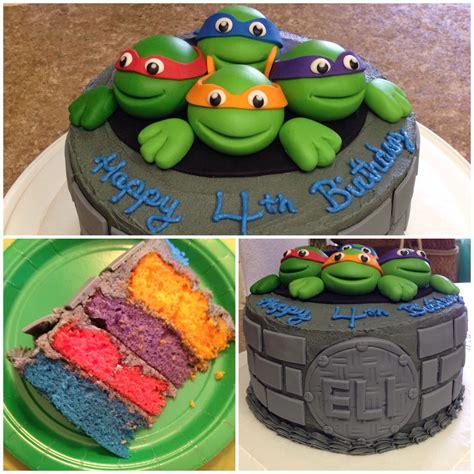 Diy-Tmnt-Cake
