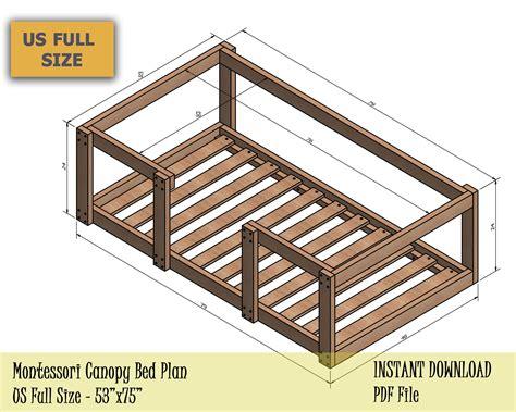 Diy-Toddler-Floor-Bed-Plans