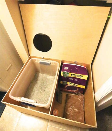 Diy-Top-Entry-Kitty-Litter-Box