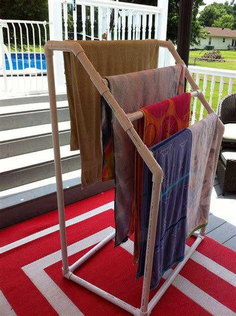 Diy-Towel-Drying-Rack-Pvc-Pipe
