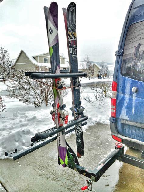 Diy-Trailer-Hitch-Ski-Rack