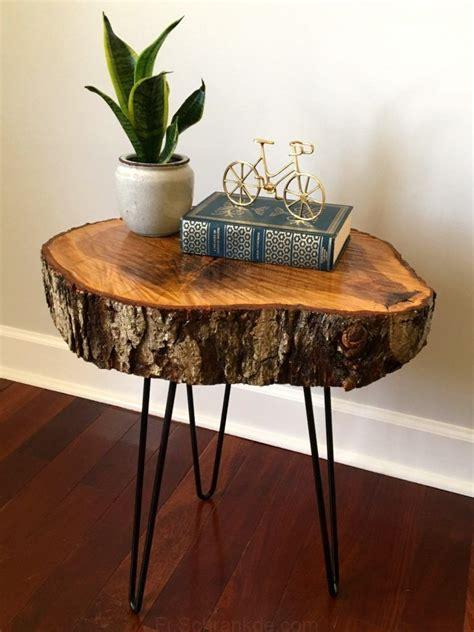 Diy-Tree-Slice-Table