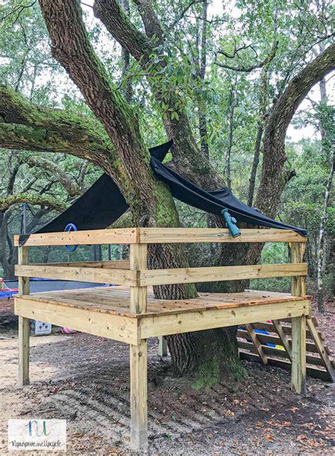 Diy-Treehouse-Platform
