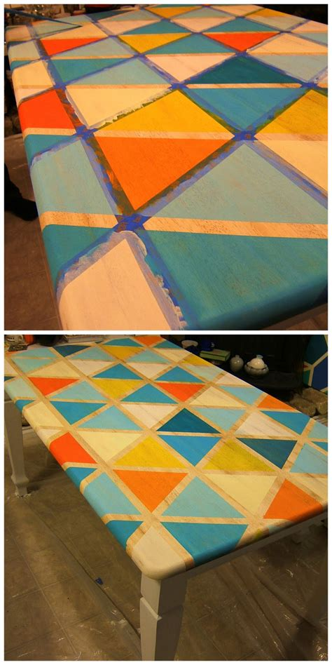 Diy-Triangle-Table-Top
